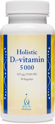 D3-Vitamin 5000IE Holistic Husapoteket.eu