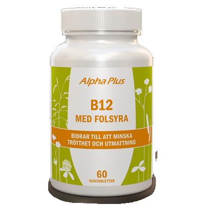 holistic b12 folsyra