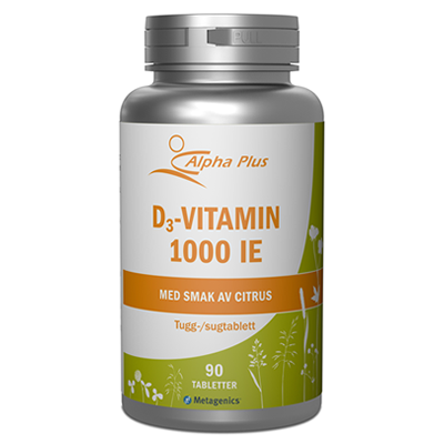 D3-vitamin 1000 IE Alpha Plus